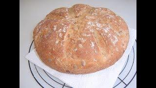 Хлеб с зёрнами тыквы