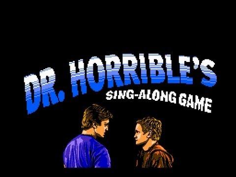 Dr Horrible's Sing Along Game Gets More Horrible
