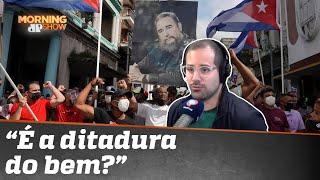 'Vai pra Cuba': Cubanos saem às ruas contra ditadura