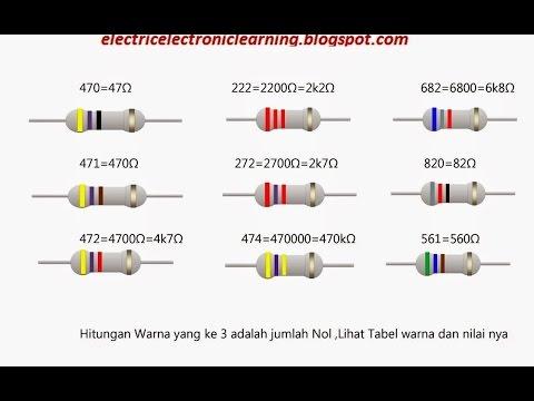 mp4 Kode Warna Resistor, download Kode Warna Resistor video klip Kode Warna Resistor