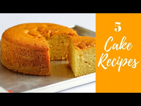 Video 5 Super Cake Recipes In Hindi | Cake Recipes In Pressure Cooker | #Compilation-9