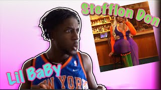 SHE BAD ASF 🔥🥵 STEFFLON DON , LIL BABY   PHONE DOWN (Official Video) | REACTION!!!