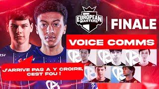 EU Masters : Voice Comms de la Karmine Corp en finale