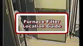 Furnace Filter Location Guide