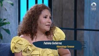 Todos a bordo - Perito forense. Fabiola Gutiérrez
