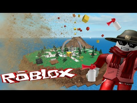 Natural Disaster Survival Part 1 Roblox Version Mlg Survive The