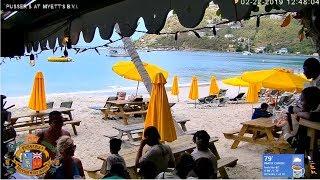 🔴 LIVE Pusser's at Myett's in Cane Garden Bay, Tortola, British Virgin Islands Full HD Cam
