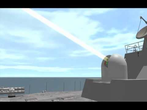 Watch A Navy Laser Gun Blast A Drone Right Out Of The Sky