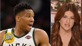 Giannis still has two weaknesses despite being so amazing - Rachel Nichols | The Jump