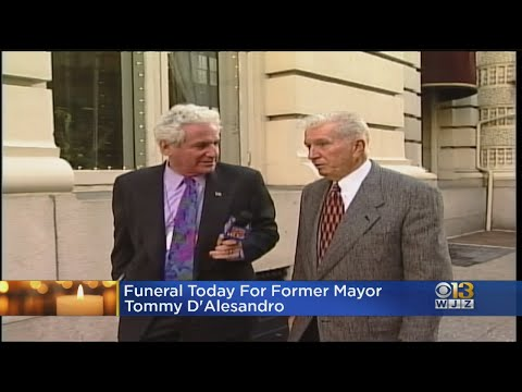 Former Baltimore Mayor, House Speaker Nancy Pelosi's Brother Thomas D'Alesandro III Laid To Rest Wed