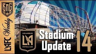 LAFC Stadium Construction Update 14