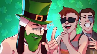 Panda Celebrated St. Patrick's Day Too Hard and Forgot How To Talk! - Gmod Deathrun Funny Moments