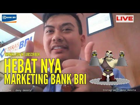 BEDA NYA MARKETING BANK BRI DENGAN BANK LAIN - THANKS FOR 1K SUBSCRIBER VIDEO DENY DENNTA