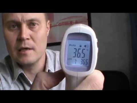 Инфракрасный термометр из Китая с Aliexpress