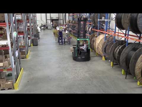 immagine di anteprima del video: SENSiA EX Multi-Way Reach Truck