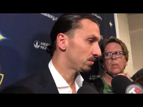 Post-Game Interview LAFCvLA: Zlatan Ibrahimovic on draw Against LAFC and Partnership with Pavón
