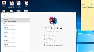 How to use/Execute Python Program in IntelliJ IDEA