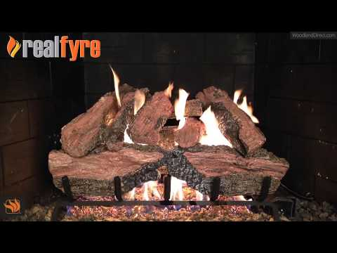 Real Fyre Charred Red Oak Vented Gas Log Set
