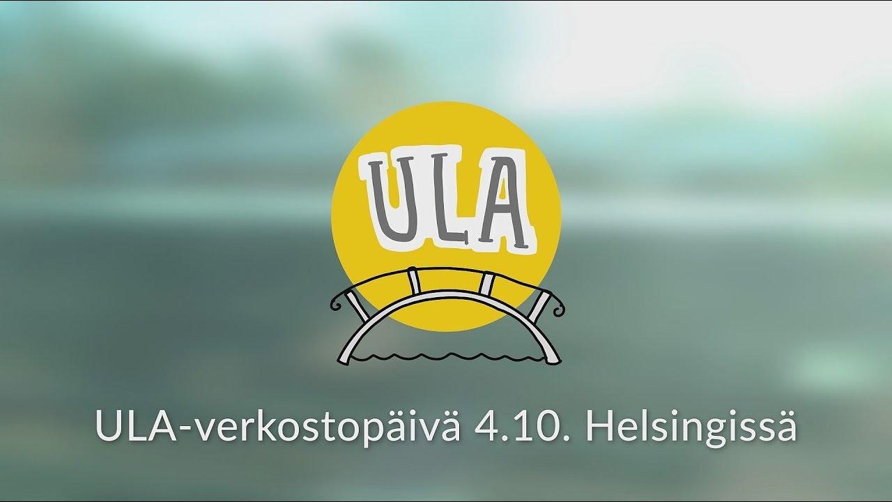 ULA-verkostopäivä 4.10. Helsingissä