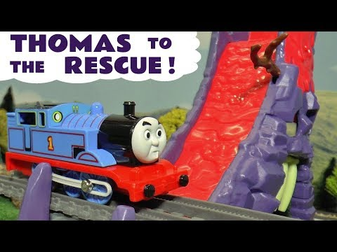 Thomas The Tank Engine To The Rescue Toy Stories for kids with Lion Guard Surprise Egg Prank TT4U