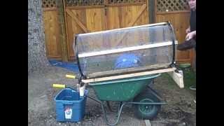 rotating compost sifter sieve trommel most popular videos. Black Bedroom Furniture Sets. Home Design Ideas