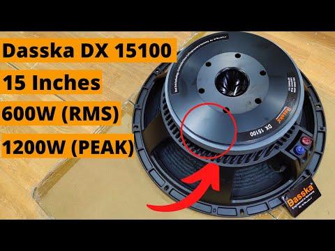 Dasska DX 15100 15 Inch DJ Speaker 600W
