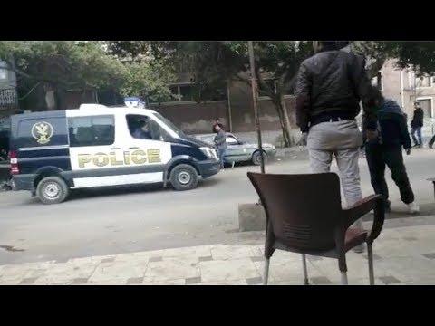 العرب اليوم - شاهد:لحظة وصول جثامين المعدومين في قضية النائب العام المصري لمشرحة زينهم