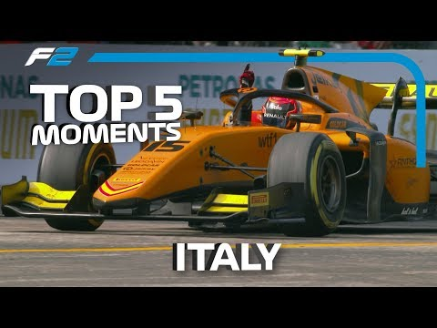 Top 5 Formula 2 Moments | 2019 Italian Grand Prix