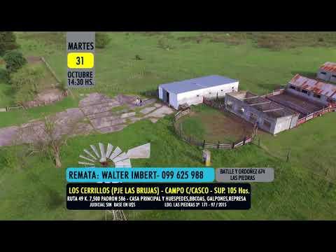 REMATE CAMPO - WALTER IMBERT - LOS CERRILLOS - LAS BRUJAS-
