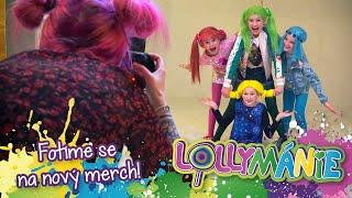 Lollymánie - Fotíme se na nový merch, plakáty, stránky atd...