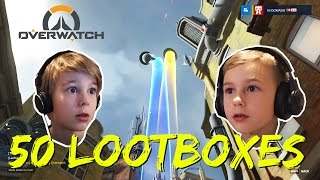 Overwatch | Öppnar 50 st LOOT BOXES! | Crash Brothers Gaming | Kholo.pk