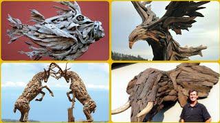 50+ Ideas Of Driftwood Craft/driftwood Sculpture/art Of Wood