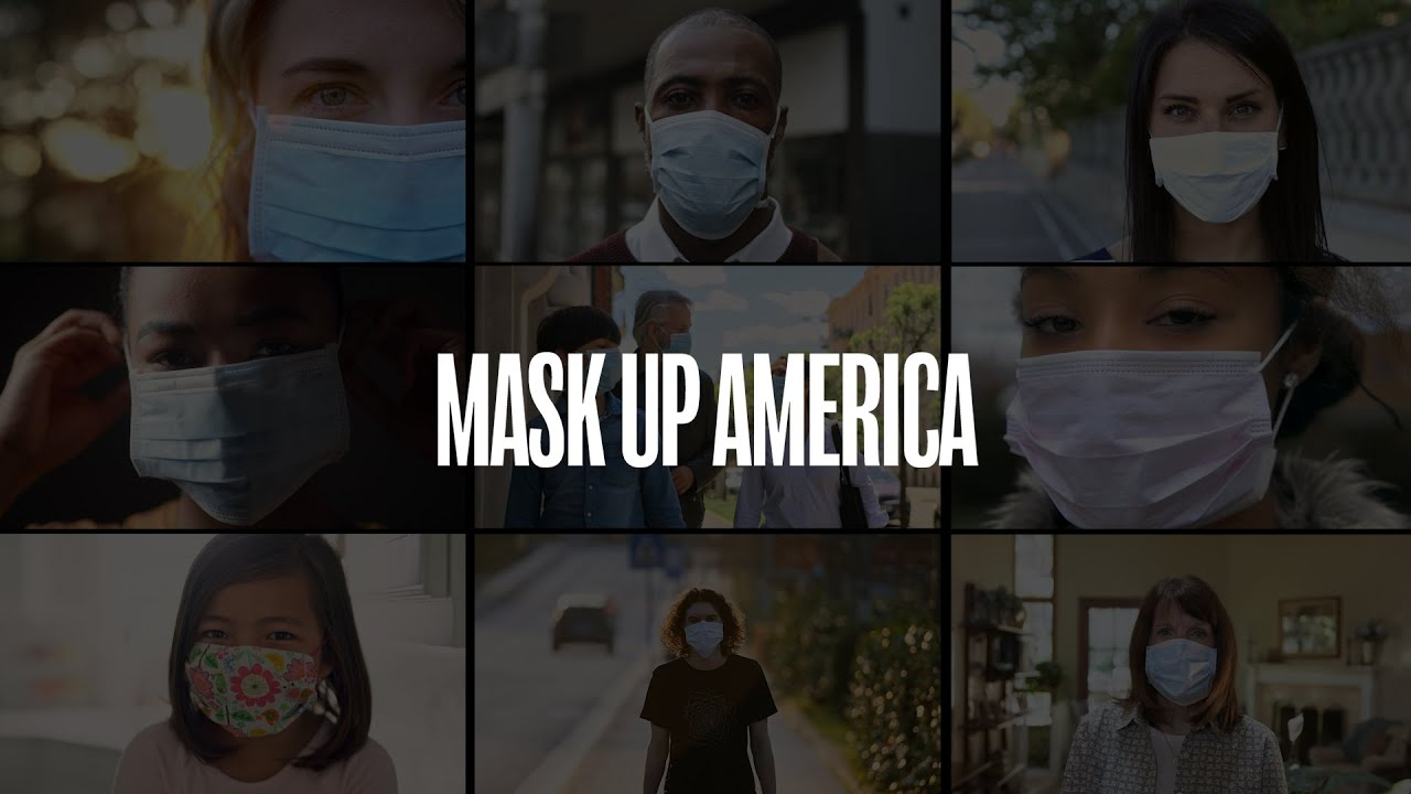 "Mask Up America | ""You Have My Respect"" 
