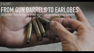VIDEO: FROM GUN BARRELS TO EARLOBES