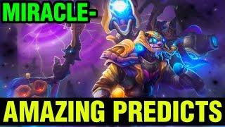 Amazing Predicts - Miracle- Tinker 7.16 Gameplay - Dota 2