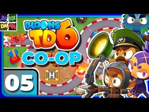 🥇 Bloons TD 6 COOP MULTIPLAYER Episode 6- Alpine Run! (IOS / 4