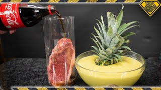 Will COKE and Pineapple ACID Disintegrate Meat?