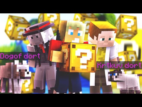 Dogof dort & Krtkův dort ❓ Lucky Islands [Minecraft]