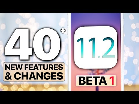 iOS 11.2 Beta 1 Released! 40+ Features & Changes!