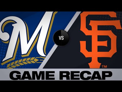 Vogt, Pillar lead Giants past Brewers | Brewers-Giants Game Highlights 6/15/19