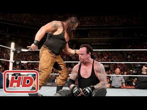 WWE 03/25/2017 The Undertaker Vs Braun Strowman Full Match HD 2017 - Raw 2017