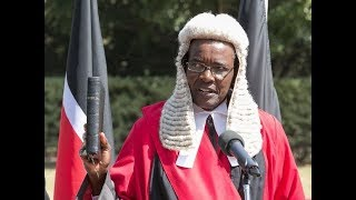 Tough-talking Justice Maraga,