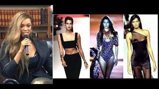 "Tyra Banks - Yasmeen Ghauri Have ""The Walk of Life"""