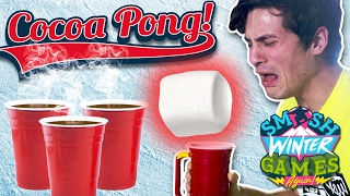 HOT COCOA PONG (Smosh Winter Games)
