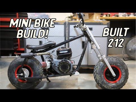 Part 4 -- Predator 212cc Powered Bike Project - Vazfx Design and
