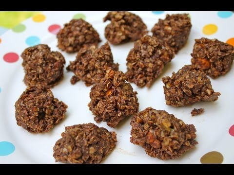 Video Healthy No Bake Cookies Recipe