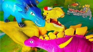 TREDIMALS 🦖🐉 Arex e Vastatore scoprono i DinoDragons Squad [Unboxing]
