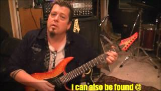 STRYPER - ALL FOR ONE - Guitar Lesson by Mike Gross