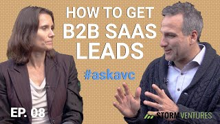 AskAVC #8 – How to get B2B SaaS leads?