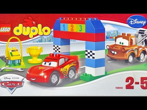 Cars Lightning McQueen And Mater Disney Pixar Cars Classic Race ★ LEGO DUPLO 10600 Playset